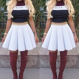 skater skirt mesh sleeveless t-shirt dress cute
