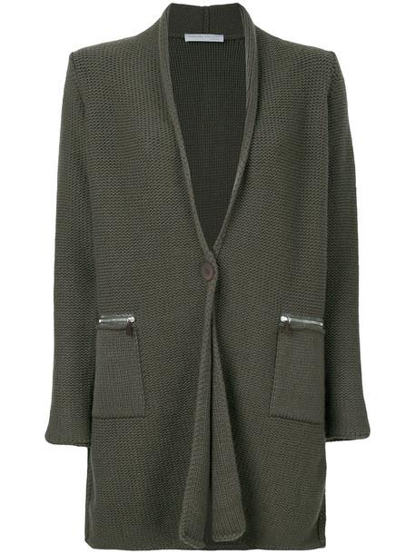 Fabiana Filippi cardigan cardigan women silk wool green sweater
