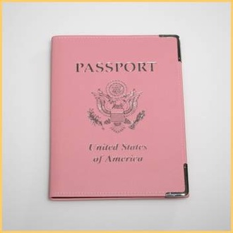 home accessory pink passport cover summer holidays