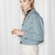 & Other Stories | Cropped Utilitarian Jacket | Washed Teal