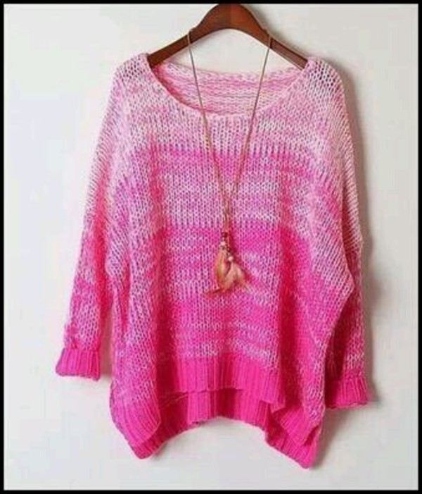 sweater shirt ombre sweater ombre
