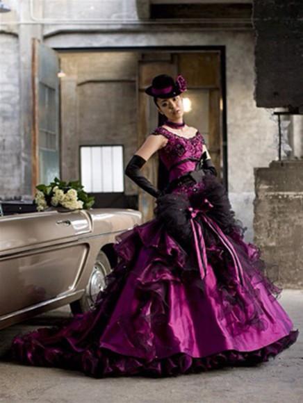 wedding dress victorian goth gothic dress goth dress