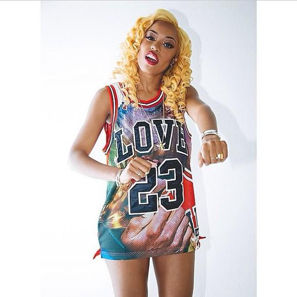 jersey jersey dress sisterhood of hip hop oxygen 23 nyemiah supreme love 23 love