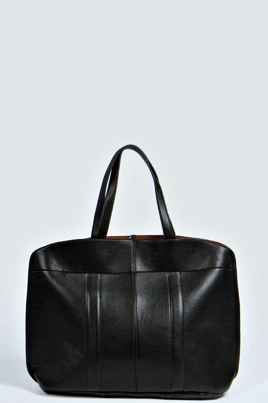Ava Mottled Finish Oversized Weekend Bag