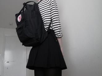 fjallraven kanken daypack black/graphite