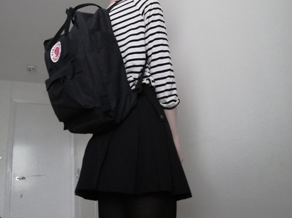 black bag bag school bag