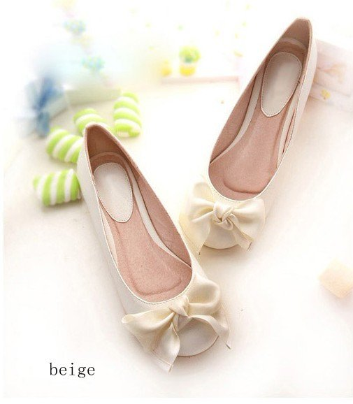Women's flat shoes ,Bow ,Casual shoes ,2013 new style ,Free shipping ,XWD006-in Flats from Shoes on Aliexpress.com