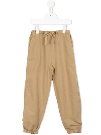 cotton brown pants