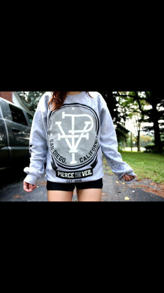 long sleeves pierce the veil