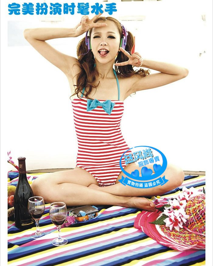 2011 Cute one piece women swimwear, swimming wear, M. L. XL, accept Credit Card, free shipping-in One Pieces from Apparel & Accessories on Aliexpress.com