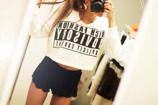 tank top fashion advisor top crop tops shorts shirt black and white rich fashion advisory