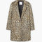 Leopard faux-fur coat - coats for woman | mango united kingdom