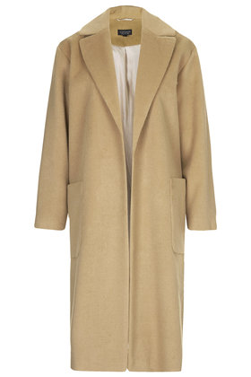 Longline Throw On Coat - Jackets & Coats - Clothing - Topshop