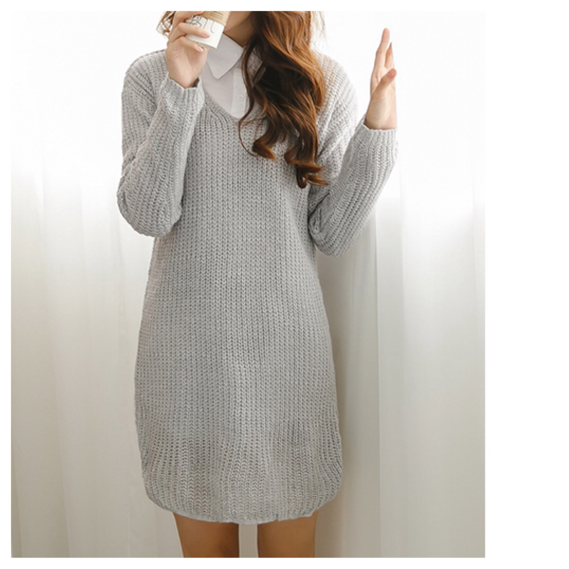 Amelia sweater dress from doublelw on storenvy