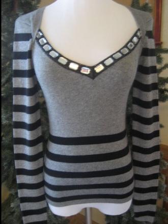 sweater gray cashmere sweater victoria's secret