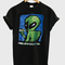 90s distressed smoking alien grunge tshirt - stylecotton
