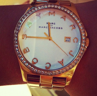 jewels marc by marc jacobs watch gold