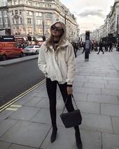jacket,beige,faux fur,teddy jacket,camel,fluffy