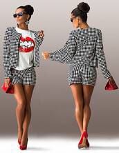 shorts,zefinka,jacket,button up,cute,party outfits,date outfit,leisure suit