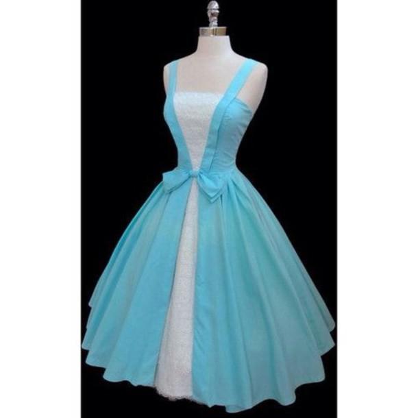 dress, alice in wonderland, blue dress - Wheretoget