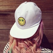 hat,cap,smiley,marijuana,weed,stripes,striped shirt,hipster,white,clothes,cool