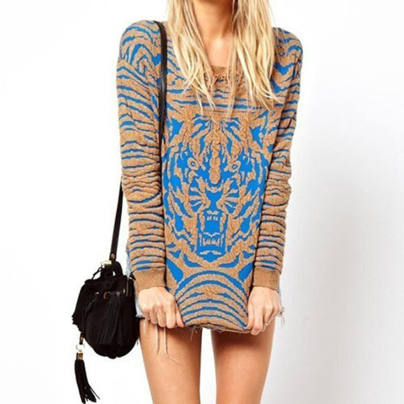 cool sweater stylish mixing color