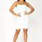 Morning light sequin dress - white