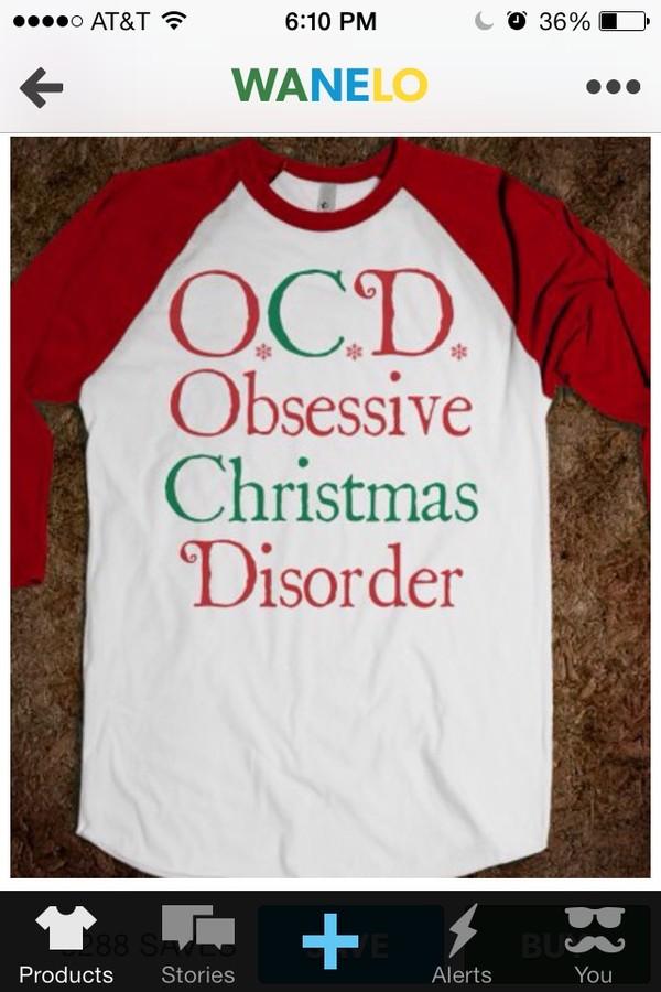 o.c.d obsessive christmas disorder - glamfoxx.com - Skreened T ...