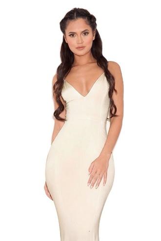 dress maxi dress silky dress strappy dress sexy maxi dress long dress white long dress white elegant dress white fitted dress long prom dress mermaid prom dress evening dress