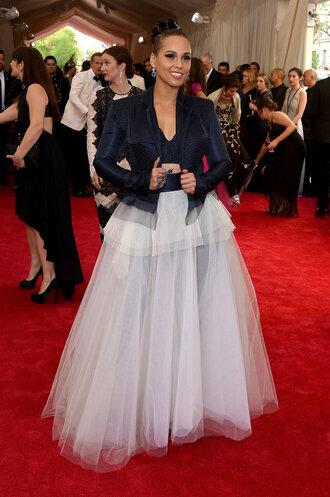 skirt top maxi skirt alicia keys met gala red carpet metgala2015