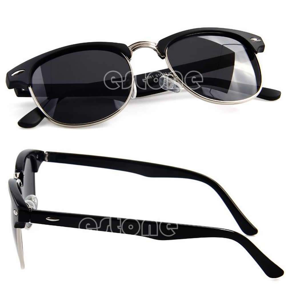 Fashion Retro Vintage Womens Mens Designer Oversized Sunglasses Glasses Hot