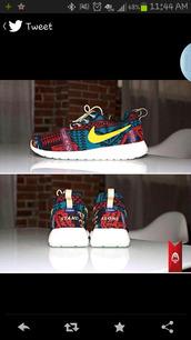 shoes,aztec nikes