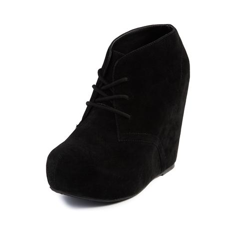 Breckelles SANDY21 Ballet Lace Up Oxfords Ballerina Shoes Flat Sandals Loafer, Black Faux Suede For