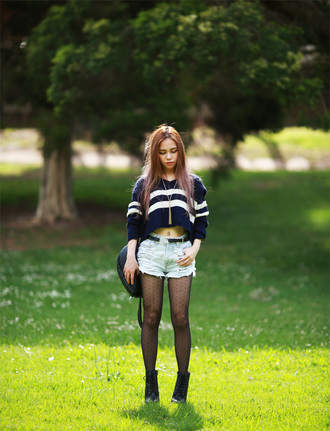 chloe ting blogger jewels striped sweater
