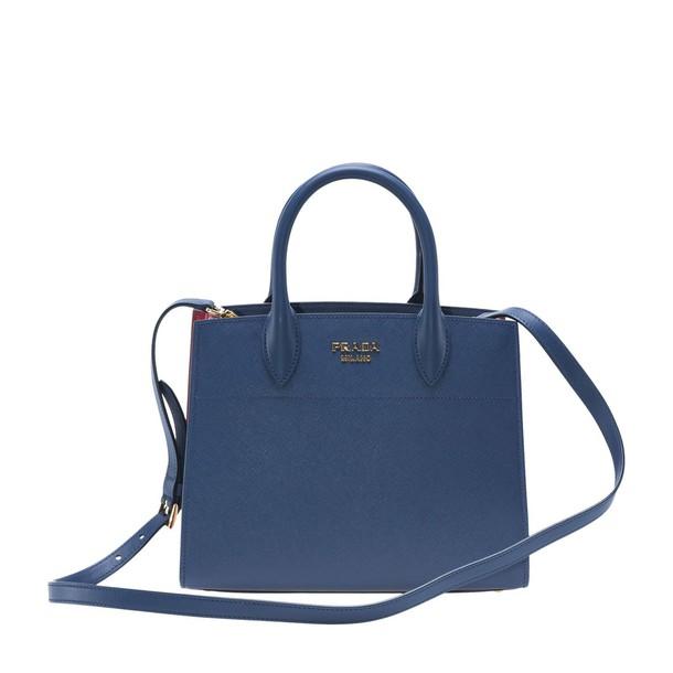 Prada blue red bag