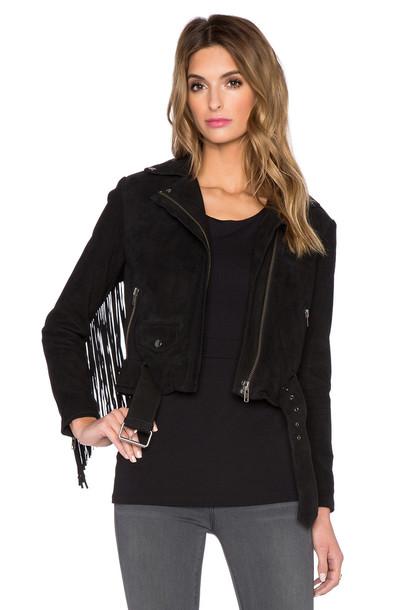 Muubaa jacket biker jacket black
