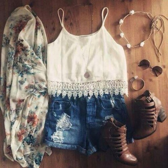 top crochet top blouse