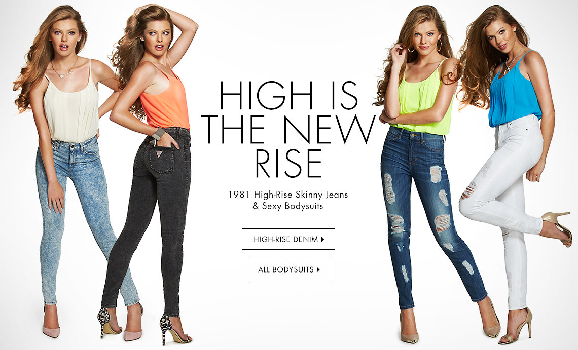 GUESS   Jeans, Clothing & Accessories for Men and Women: Shop the Latest Fashion Trends at GUESS.