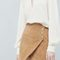 Suede wrap skirt - skirts for women | mango
