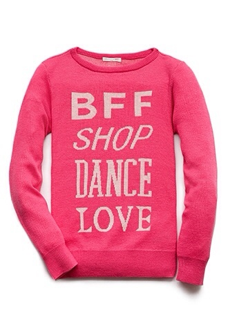 sweater shop bff dance love