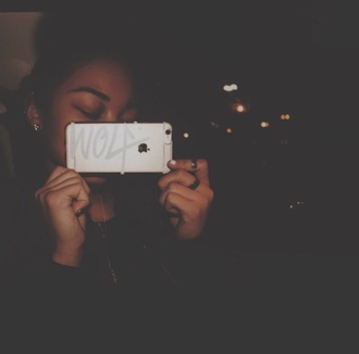 phone cover wolftyla iphone see through