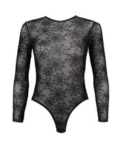 underwear,mesh,mesh bodysuit,bodysuit,black bodysuit,long sleeve bodysuit,halloween,gift ideas