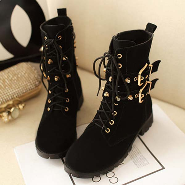 metal buckle bike boots · Cute Kawaii · Online Store Powered by Storenvy