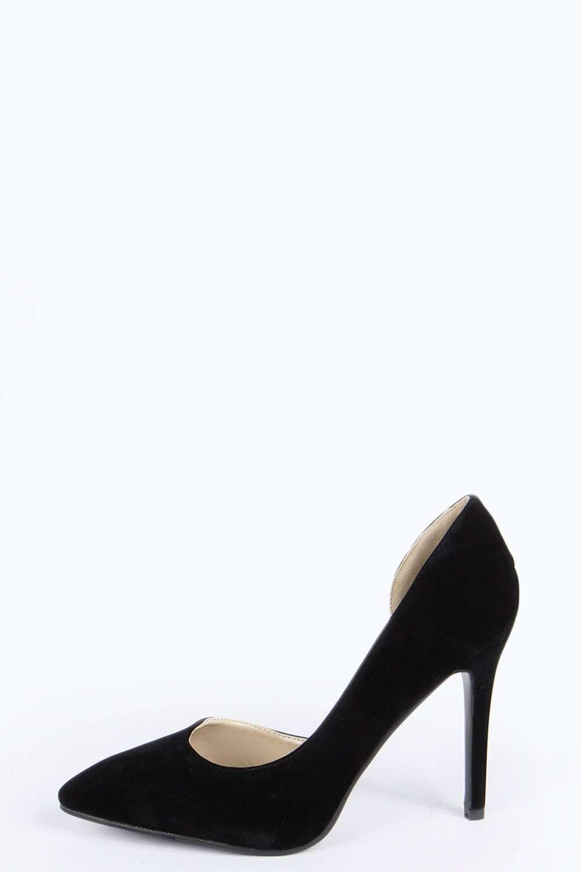 Jennifer Asymetric Court Heels