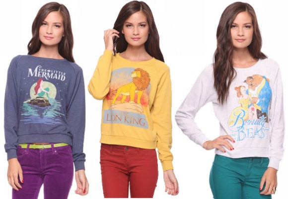 the little mermaid sweater sweatshirt