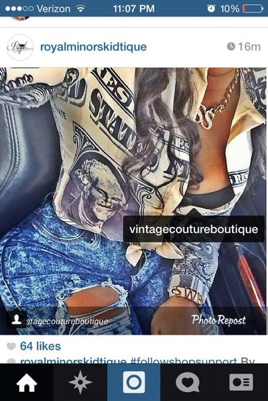 blouse button up blouse money