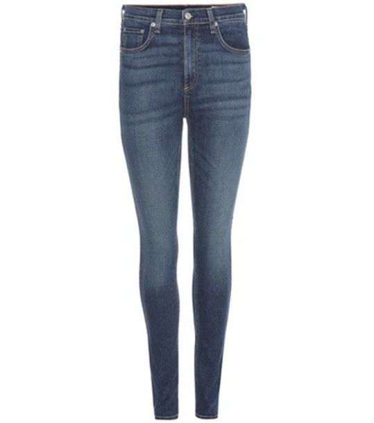 Rag & Bone Dive Jeans in blue
