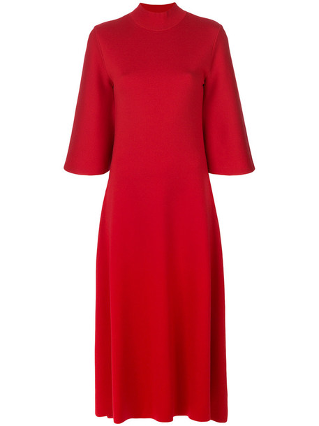 PRINGLE OF SCOTLAND dress women red