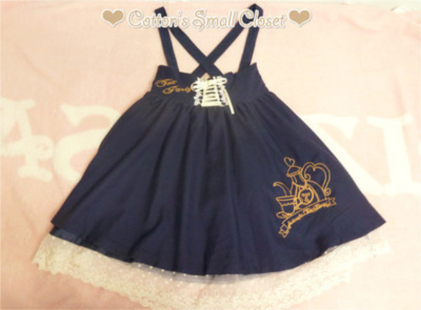 dress kawaii dress pretty tea japanese fashion
