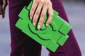 bag,green,chanel,clutch,chanel clutch bag